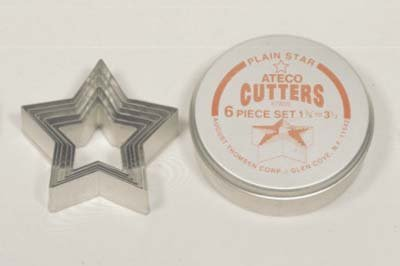 August Thomsen 7805 Plain Star Cutter Set 6 Piece