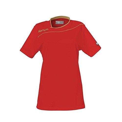 Kempa Kempa Gold Femme Maillot - Camiseta de equipación de balonmano para mujer rojo