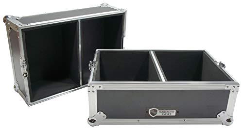 Harmony Case HC45120 Flight Ready Road Case Holds 120 of 45 RPM Vinyl Records