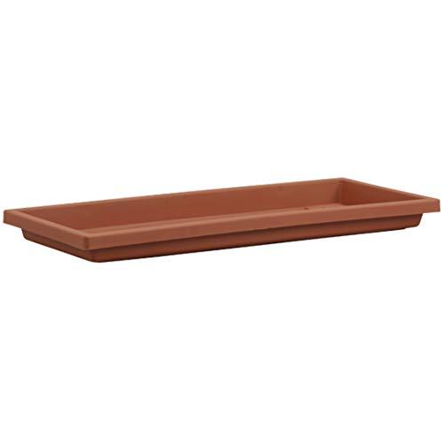 Akro Mils SVN30000E35 Tray for Venetian Flower Box, Clay Color, 30-Inch (Window Sill Gardening)