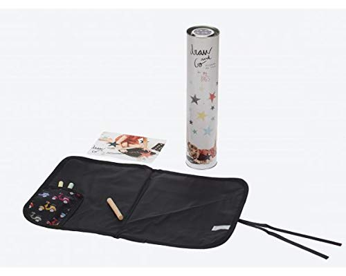 Pizarra de tela enrollable Vespas Negras My Bags Dgvesbl