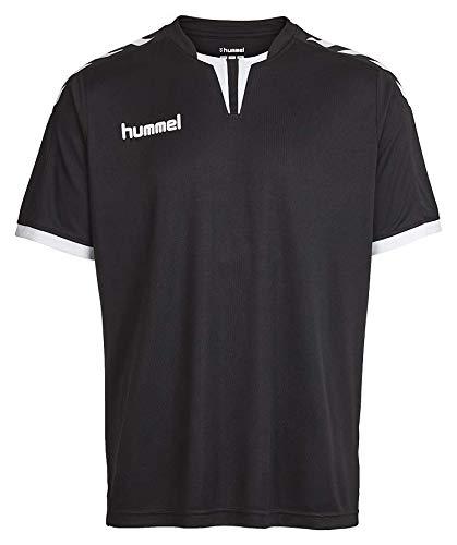 - Hummel Sport Hummel Core Short Sleeve Poly Team Jersey, Black, Extra Small