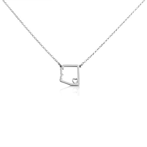 925-sterling-silver-small-arizona-state-necklace-22-inches
