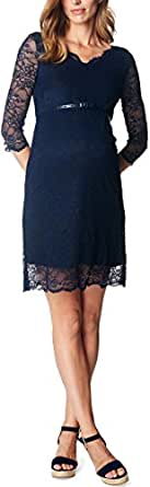 ESPRIT Maternity Dress Ss Q84289, Vestido para Mujer, Blau (Night Blue 486), 36