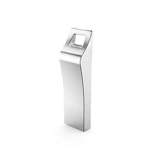 32GB USB 2.0 Flash Memory Drive Stick Silver - 6