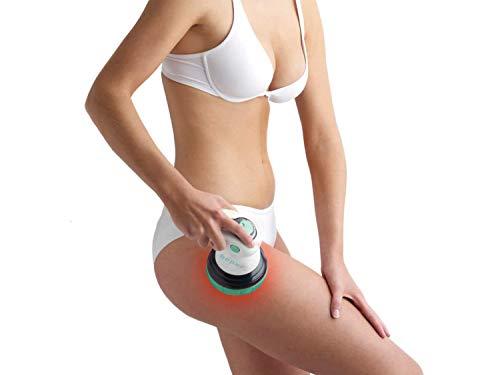 Beper Massaggiatore Anticellulite Donna 4 in 1, Massaggio a Raggi Infrarossi, Tripla Azione Circolare, Tonificante e Rassodante, Potenza Regolabile