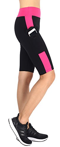 Neonysweets Womens Capri Tights Leggings Fitness Workout Pants