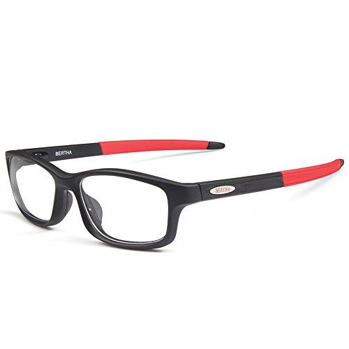 Bertha Sports Glasses Optical Protection Basketball Eyeglasses Frame Business Presription Eyewear 004 - Mens Glass Basketball