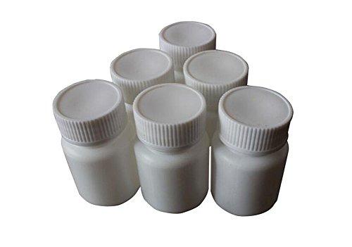 1oz container white plastic - 7