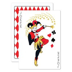 Las Vegas Party Costumes (Joker Card Cutout Party Accessory (1 count))