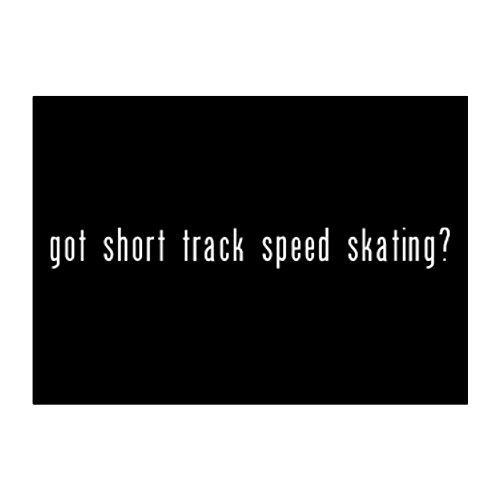 rack Speed Skating? Pack of 4 Stickers ()
