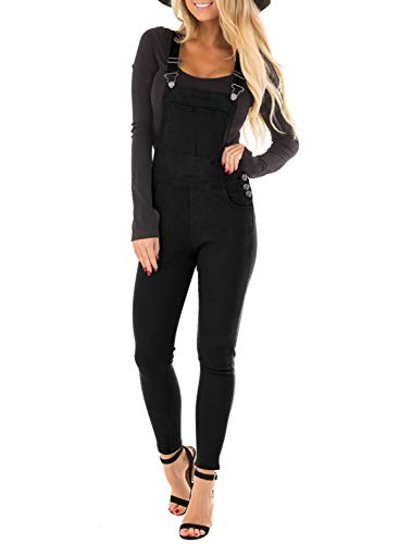 Aleumdr Clothing Women's Juniors Ankle Length Jeans Skinny Casual Slim Fit Straight Leg Pants Size L - Overalls Skinny