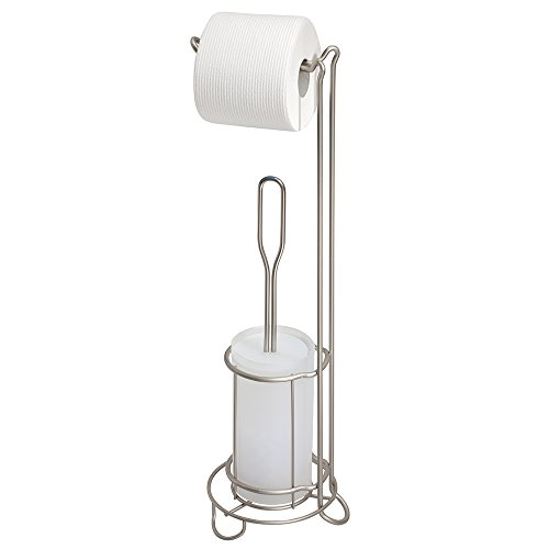 mDesign Toilet Paper Stand Bathroom