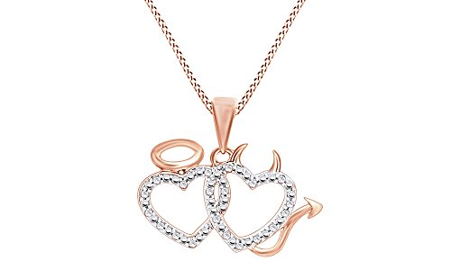 heart and devil necklace - 7
