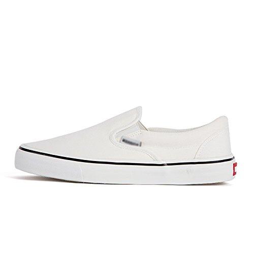 tela nere Scarpe scarpe scarpe studente casual un di whiteA008T pedale da scarpe primavera pigro WFL scarpe stoffa uomini uomo di scarpe w81nqYFxF