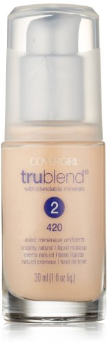 CoverGirl Trublend Liquid Make Up Creamy Natural 420, 1.0-Ounce Bottle