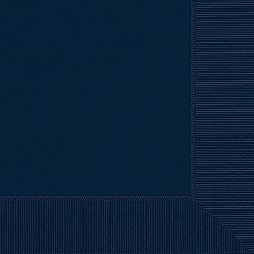 Plain Navy Blue Luncheon Napkins-20pc