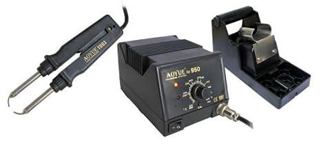 Aoyue int950 Alicates de soldadura SMD lötpinzette Pinza desoldadora: Amazon.es: Bricolaje y herramientas