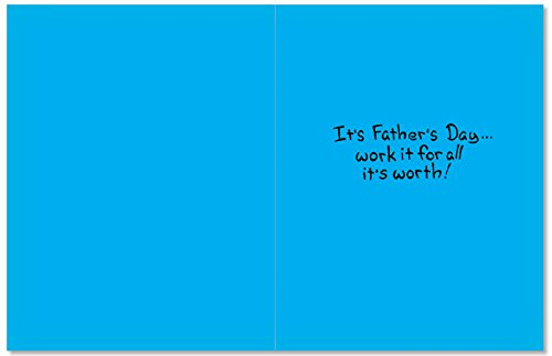 0366Z-Dad-On-The-Roof-Funny-Fathers-Day-Greeting-Card-with-5-x-7-Envelope-by-NobleWorks
