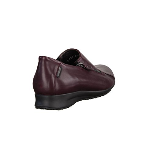 pour Mocassins Rot femme Mephisto rouge 7wBqPUY