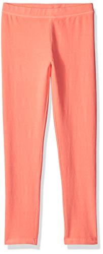 Gymboree Girls' Big Legging, neon Coral, M