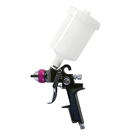 HVLP Spray Gun with 1.4 mm Tip for Base Coats, Metallic Paint, & Whole Car Spraying. Professional Series by Lematec Air (All Purpose Sata Power Supply)