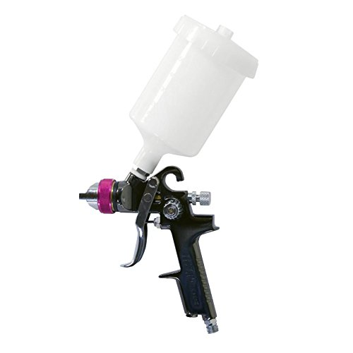 Lematec HVLP Go on a bender Spray Gun, Gravity Feed Spray Gun Professional Series 1.4 mm Standard Nozzle, with 20.2 ounce Paint Cup.