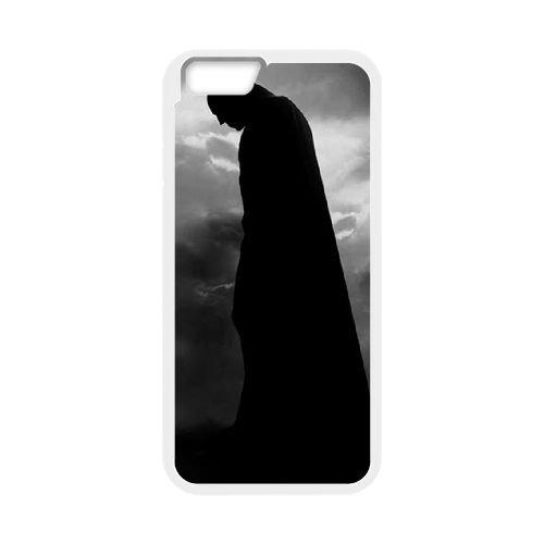 Batman coque iPhone 6 Plus 5.5 Inch Housse Blanc téléphone portable couverture de cas coque EBDOBCKCO09885