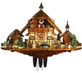 August Schwer Cuckoo Clock of The Year 2012 Farm of The Goatherd from
