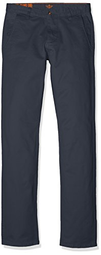 Tapered Twill Dockers Hombre Pantalones BIC Original Helena Azul Alpha 635 Slim St para Blue Stretch HpYwxY1q