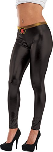 [Rubie's Costume Co Women's Marvel Universe Black Widow Leggings, Multi, One Size] (Black Widow Marvel Costumes)