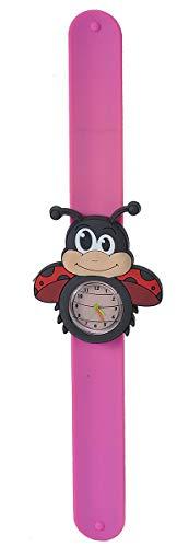 - Wild Republic Lady Bug, Slap Bracelets for Kids, Watch, Educational Toys, 9
