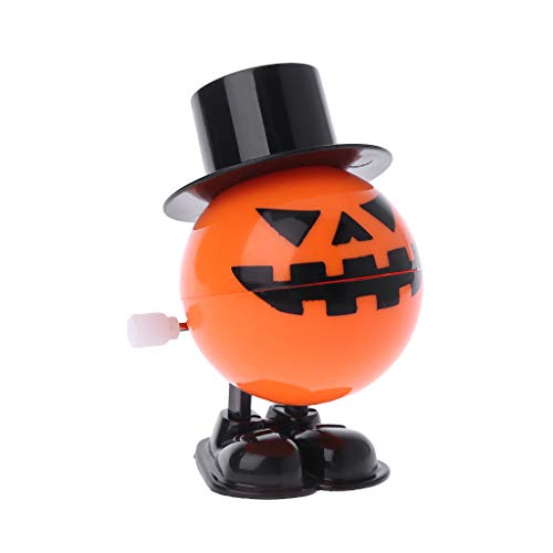 Because0f Chattering / Chomping Wind-up Toy Walking Pumpkin