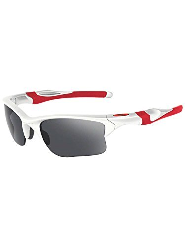 Oakley Half Jacket 2.0 XL Sunglasses Polished White / Black Iridium & Carekit - Oakley Iridium Polished Black White