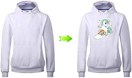 Pegatina transfer parche termoadhesivo unicornio arcoiris para ...