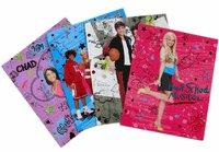 Set of 6 High School Musical Porfolio – School Supplies   B0019WZM10