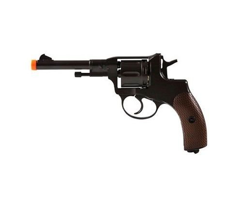 wg model-721 full metal nagant revolver co2 nbb included for sale  Delivered anywhere in USA