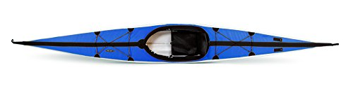 Folbot Touring Cooper Foldable and Portable Kayak, Blue/Gray, 16-Feet 6-Inch x 24-Inch