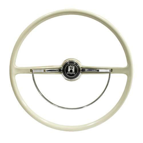 Stock VW Design Replacement Grey Steering Wheel Kit T-1, Ghia, Type-3 1962-1971