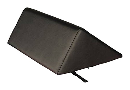 Royal Massage Kila Deluxe Oversized Triangular Massage Table Bolster Vandue TRIANGLEBOLSTER-BLACK