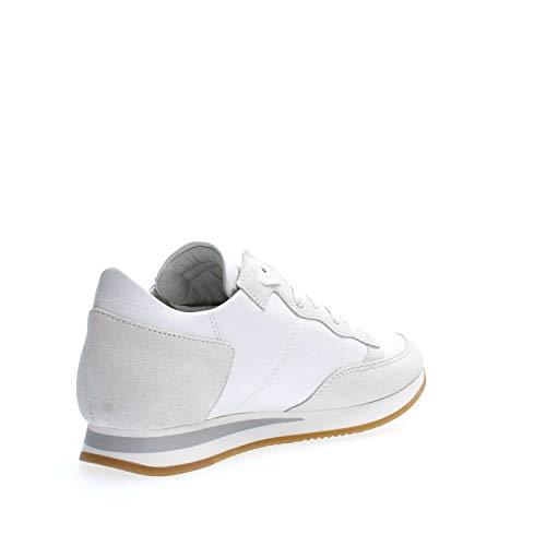 bianche Philippe Trld Tropez Model 5001 Paris basse Sneakers z06ZHnqOz