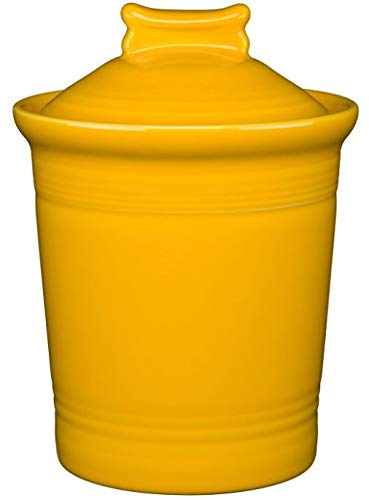(Fiesta Dog Bone Treat Jar - Daffodil Yellow )
