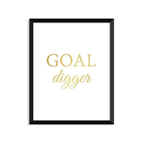 goal digger poster