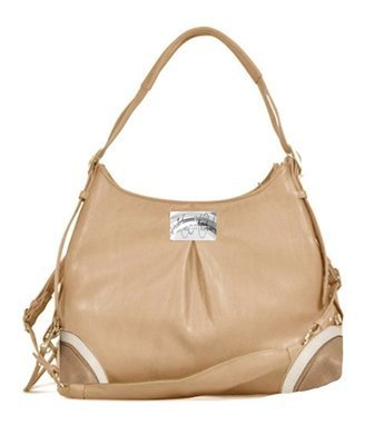 Madison Mica Michele Mocha Faux Pebble Leather Dog Carry Bag by Doggie Design