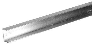 Boltmaster Aluminum U Channel 1/16'' X 3/4'' X 72'' Aluminum, Mill Ref.No.247-684 Bulk