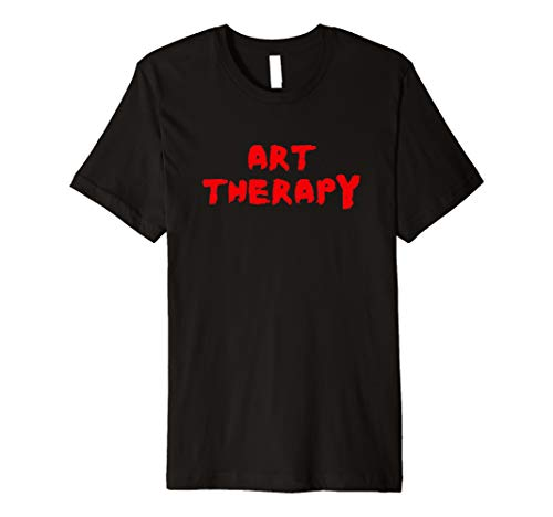 (Art Therapy Hand Painted Logo T shirt)