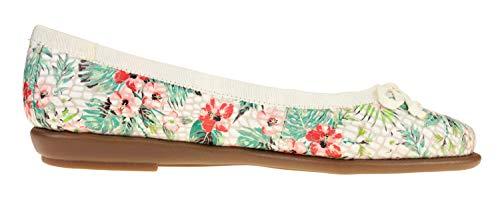 Flat Floral Aerosoles Combo Ballet Women's waqOPYEx