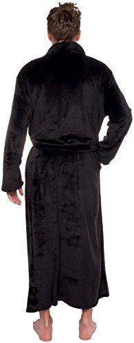 dc04b5ce80 Ross Michaels Mens Long Robe - Full Length Big   Tall Bathrobe ...