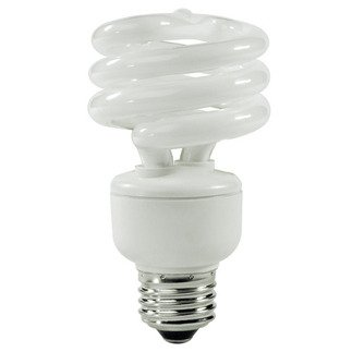TCP 801019 19W 120V 2700K 1225 Lumens Non-Dimmable Indoor/Outdoor CFL Spiral (Pack of 12)