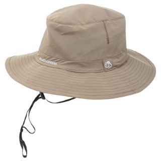 1ed527ead91 Craghoppers NosiLife Outback Hat Mens Pebble Med Lge  Amazon.co.uk  Clothing